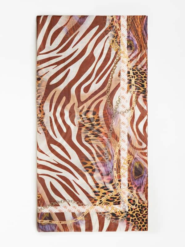GUESS Schal Animalprint