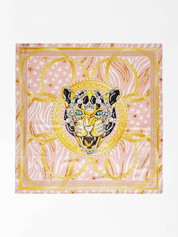 Foulard Luxe Imprimé Tigre