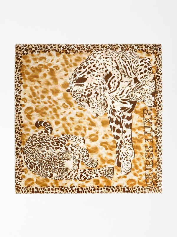 GUESS Kufiya Luxe Animalprint