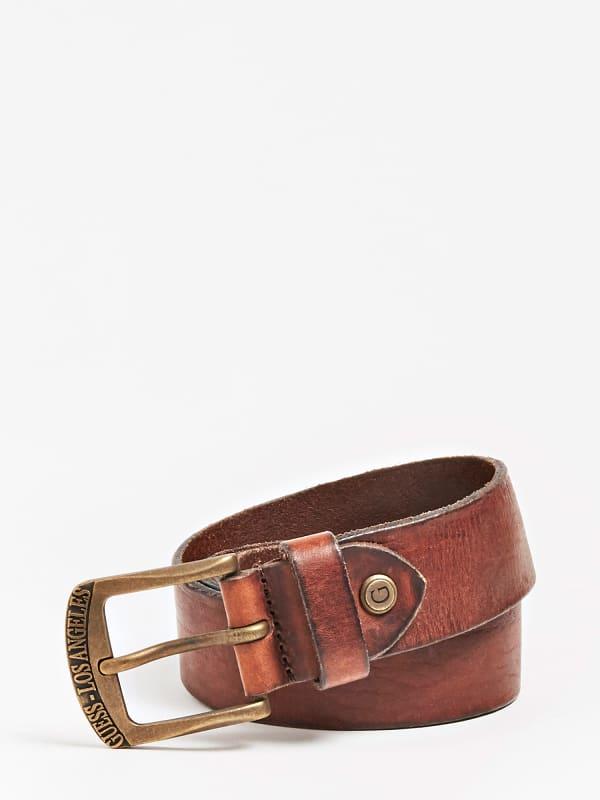 GUESS Gürtel Echtes Leder Vintage