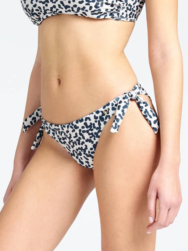 Image of Slip Bikini Brasiliana Animalier