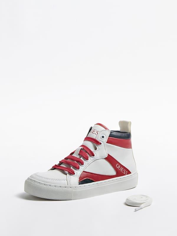 Sneaker montante dylan color block logo 27 34