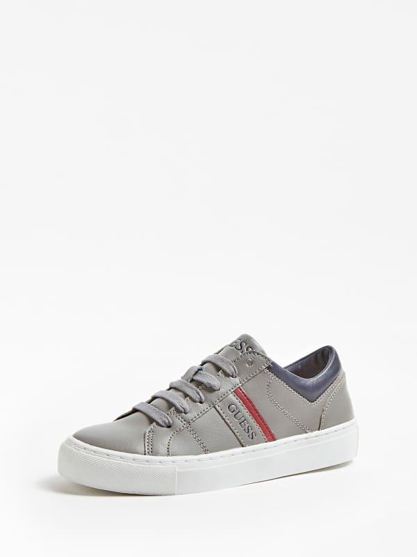Sneaker kyle cuir véritable logo 27 34