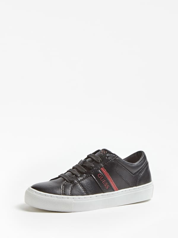 Sneaker kyle cuir véritable logo 35 38