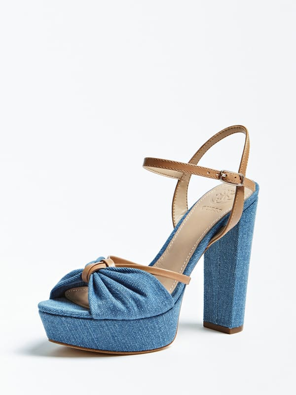 GUESS Sandalette Leviy Denim