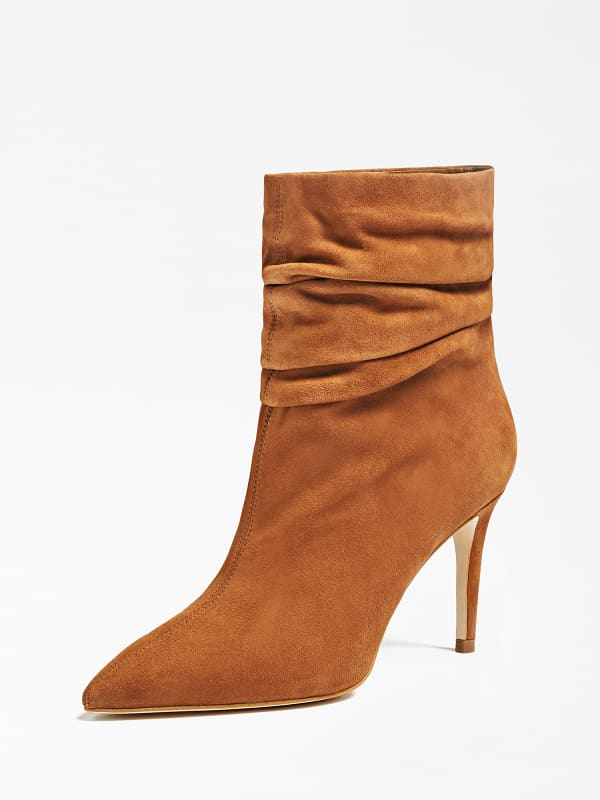 GUESS Ankle Boot Bewell Echtes Leder