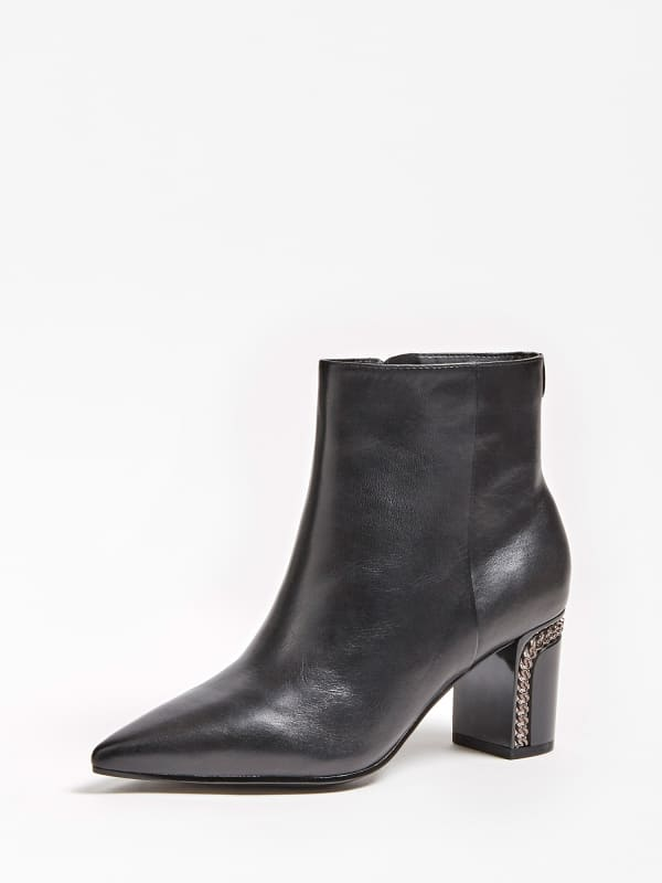 GUESS Ankle Boot Blondie Echtes Leder