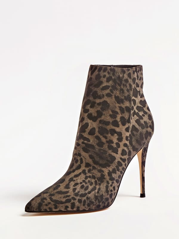 Ankle Boot Olanes Animalprint | Schuhe > Boots > Sonstige Boots | Guess