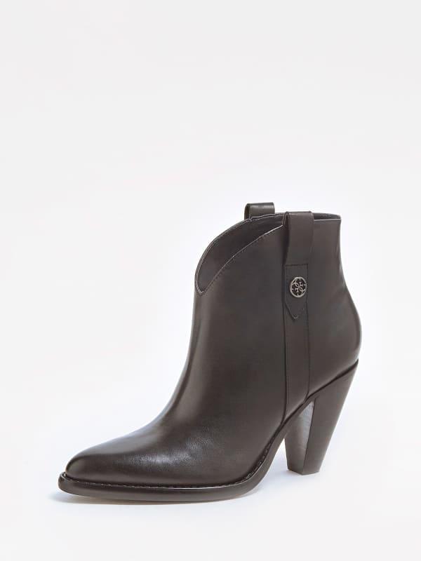 Westernstiefel Garrie Echtes Leder | Schuhe > Stiefel > Westernstiefel | Guess