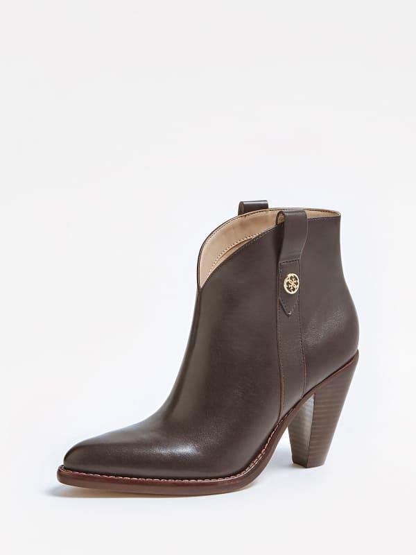 Westernstiefel Garrie Echtes Leder | Schuhe > Stiefel | Guess