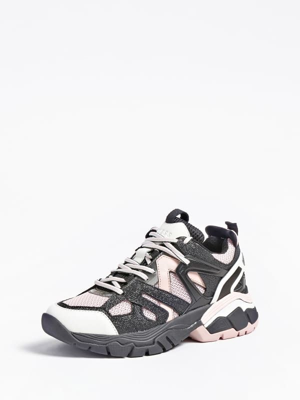 Sneaker marles cuir veritable logo