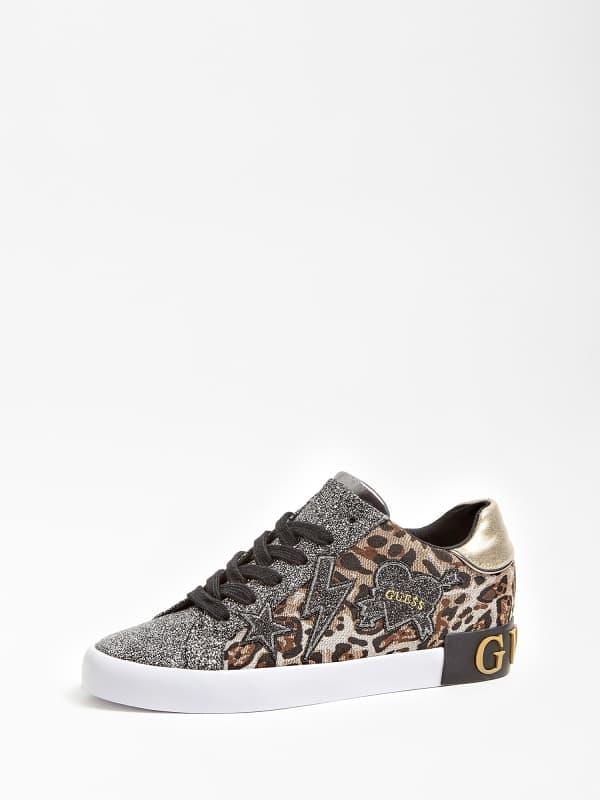 Sneaker Path Kontrast Und Patch | Schuhe > Sneaker | Guess