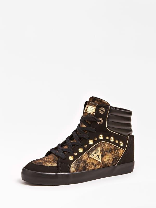 Sneaker montante porcia logo clous