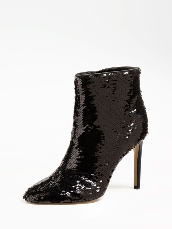GUESS Ankle Boot Tabara Mit Paillettenapplikation