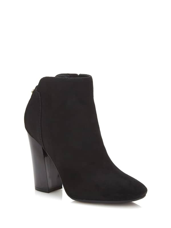 Bottines Luana En Daim
