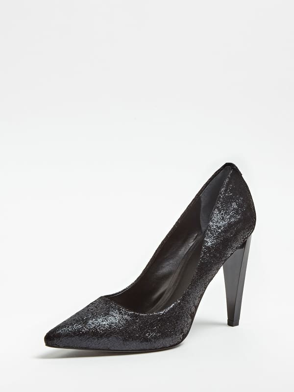 GUESS Pumps Obella Glasige Optik