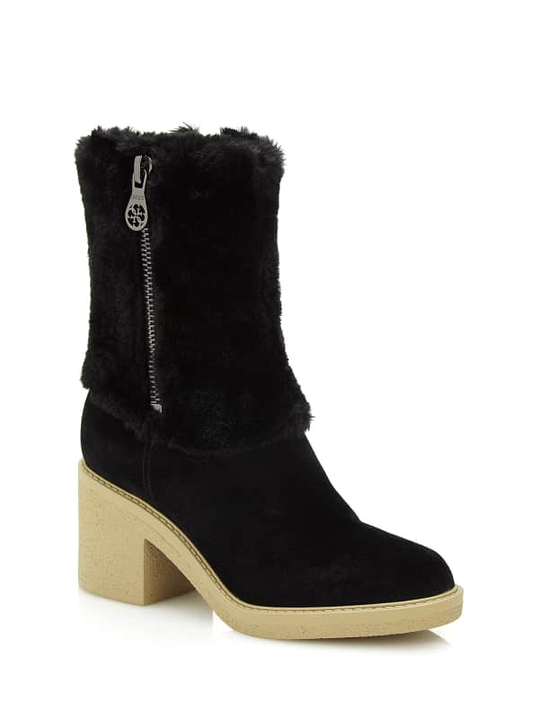 GUESS Stiefelette Rilley Kunstfell