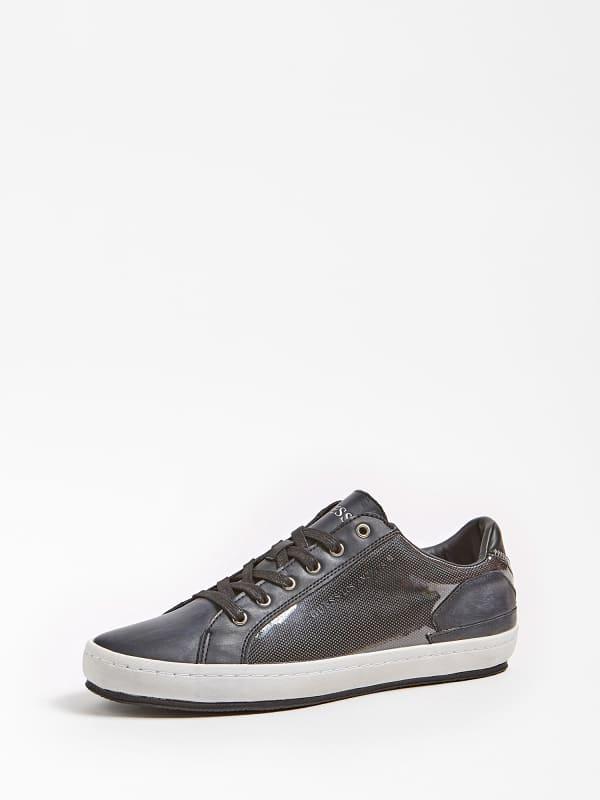 Sneaker miracle low effet brillant