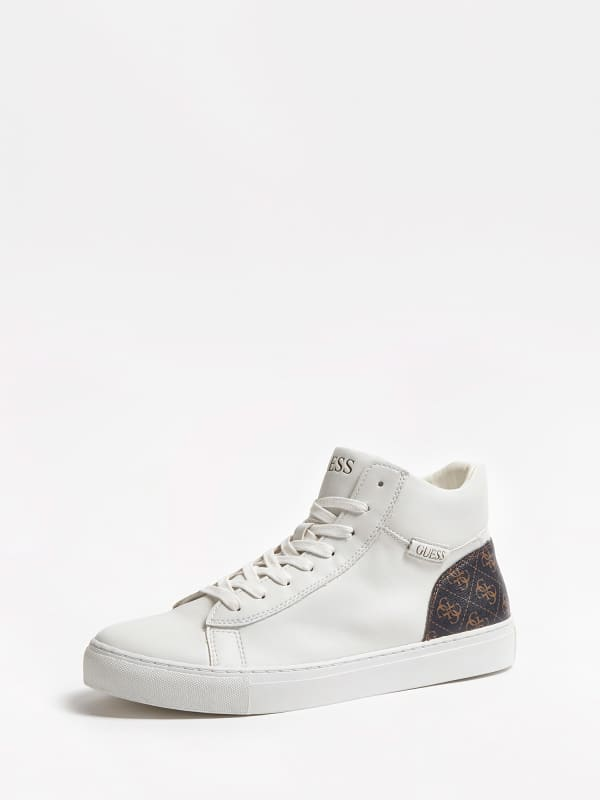 Sneaker montante larry hi motif logo