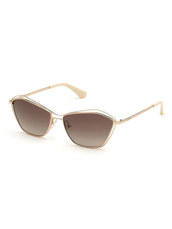 Sonnenbrille Geometrisches Modell | Accessoires > Sonnenbrillen | Guess