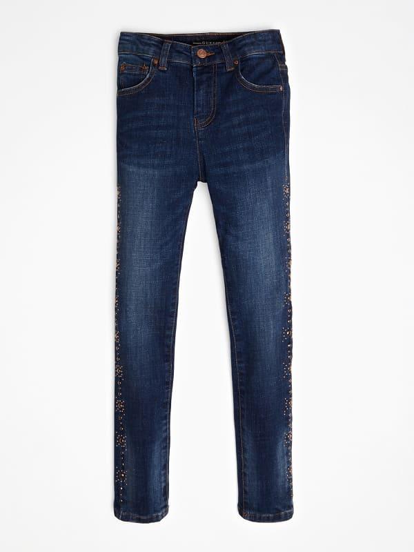 GUESS Jeans Seitliche Nieten