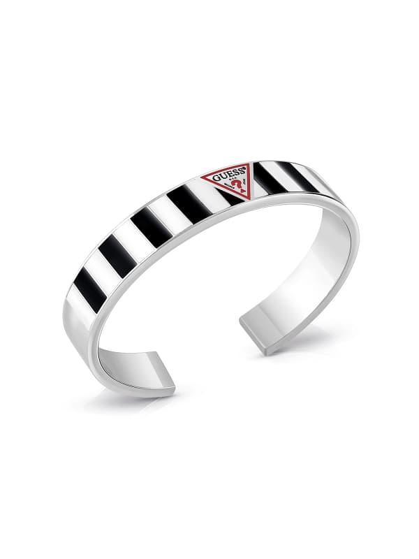 Armreif L.A. Guessers Streifenmotiv Logo | Schmuck > Armbänder > Armreifen | Guess