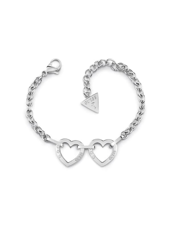 Bracelet Hearted Chain Double Coeur