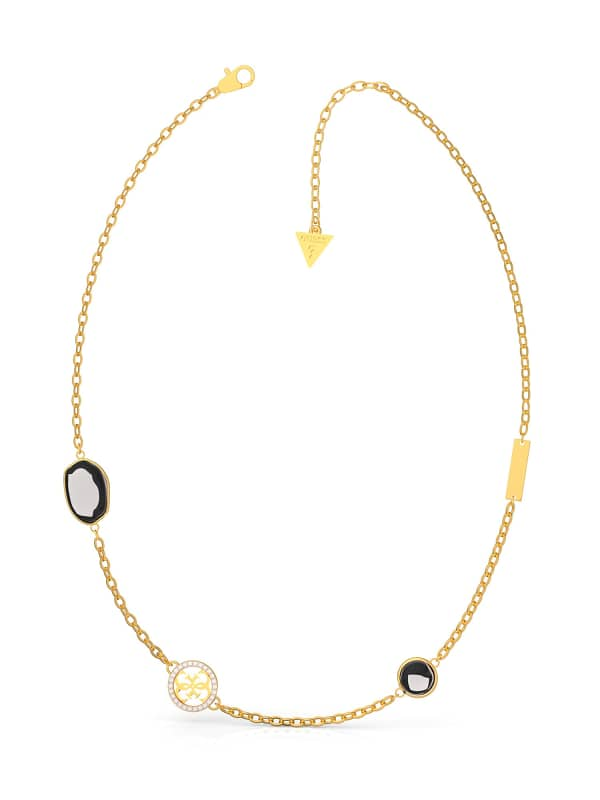 GUESS Kette Color Glam Steine