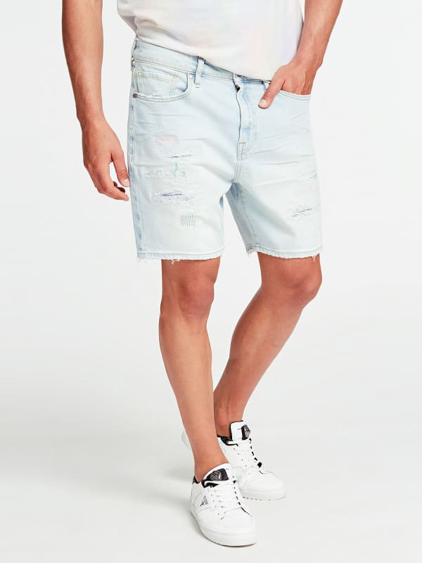 GUESS Jeansshorts Slim