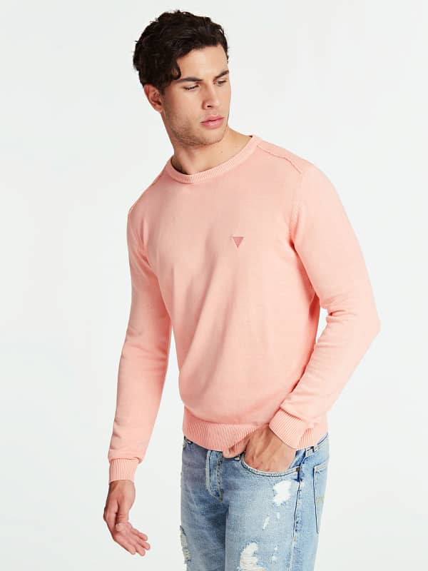 GUESS Pullover Baumwolle