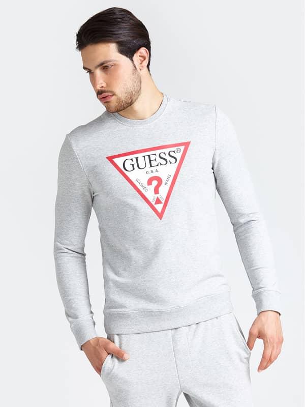 GUESS Sweatshirt Mit Logo
