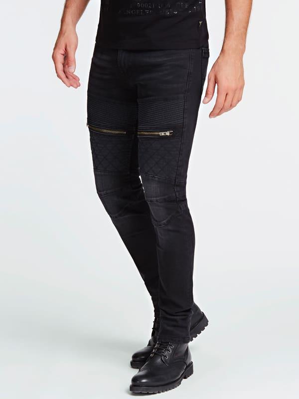 Jean glissieres skinny