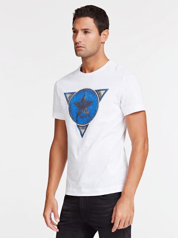 T-Shirt Logo Frontal Avec Etoile