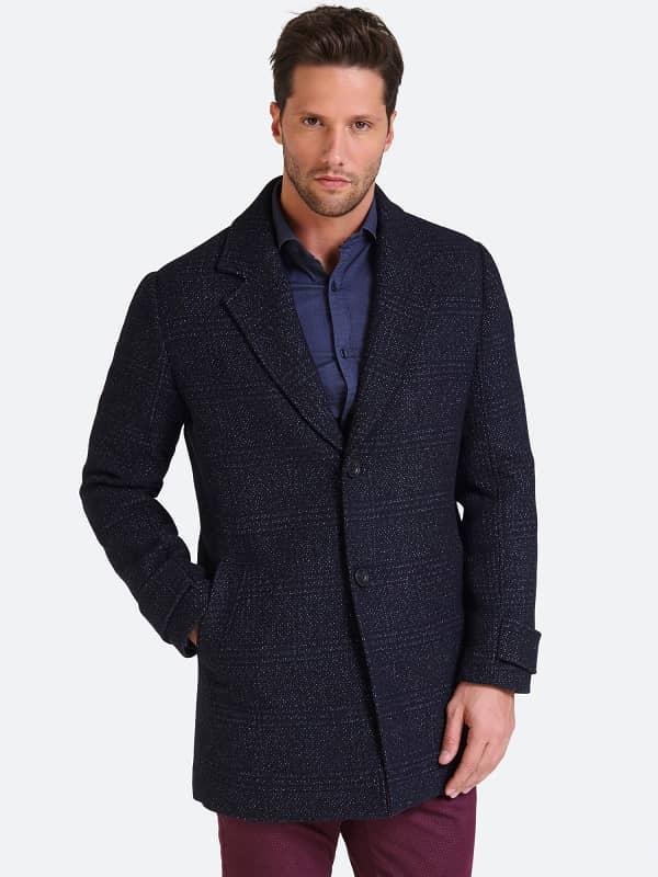 Manteau poches sur le devant