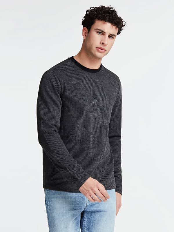 GUESS Gerippter Pullover