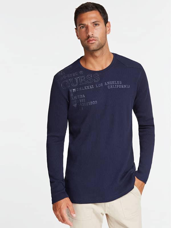 GUESS T-Shirt Frontprint Mit Logo