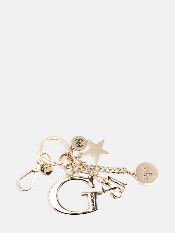 Schlüsselanhänger Lila Mehrere Logo-Charms | Accessoires > Schlüsselanhänger | Guess