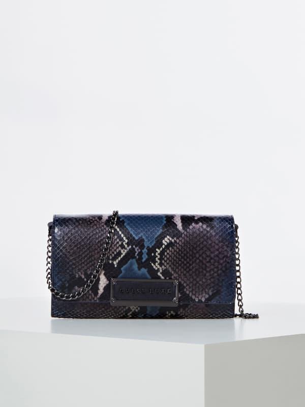 Portefeuille belle cuir véritable luxe