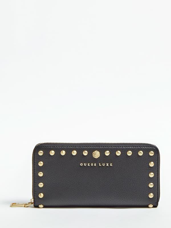 Portemonnaie Eve Echtes Leder Luxe | Accessoires > Portemonnaies | Guess