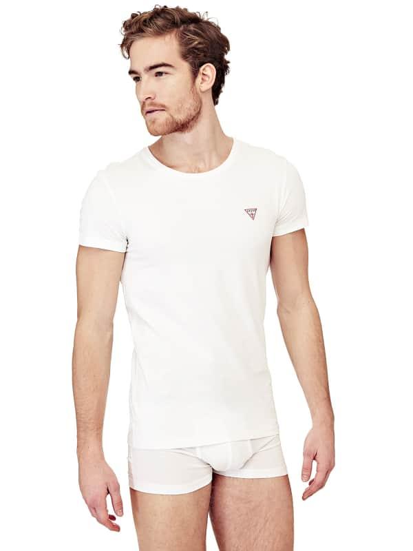 GUESS T-Shirt Hero Aus Baumwollstretch 2Er-Pack