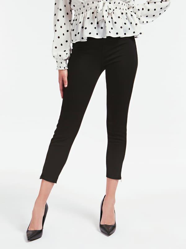 Pantalon Super Skinny Zip