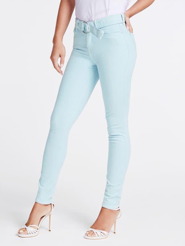GUESS Jeans Mit Gürtel Skinny Fit