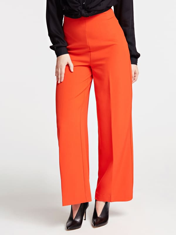Pantalon Fit And Flare