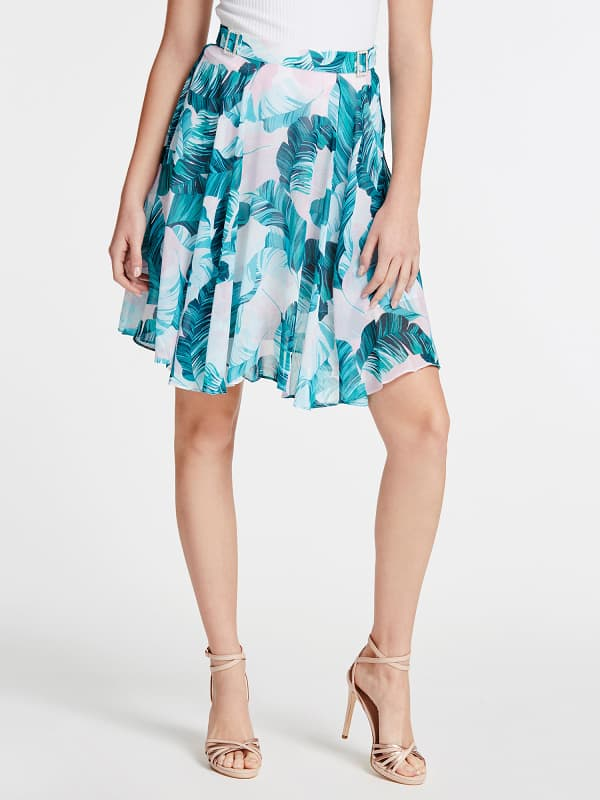 GUESS Rock Mit Allover-Print