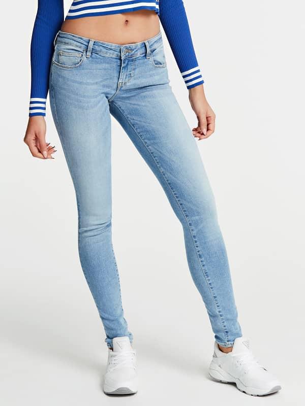 Pantalon en denim coupe skinny