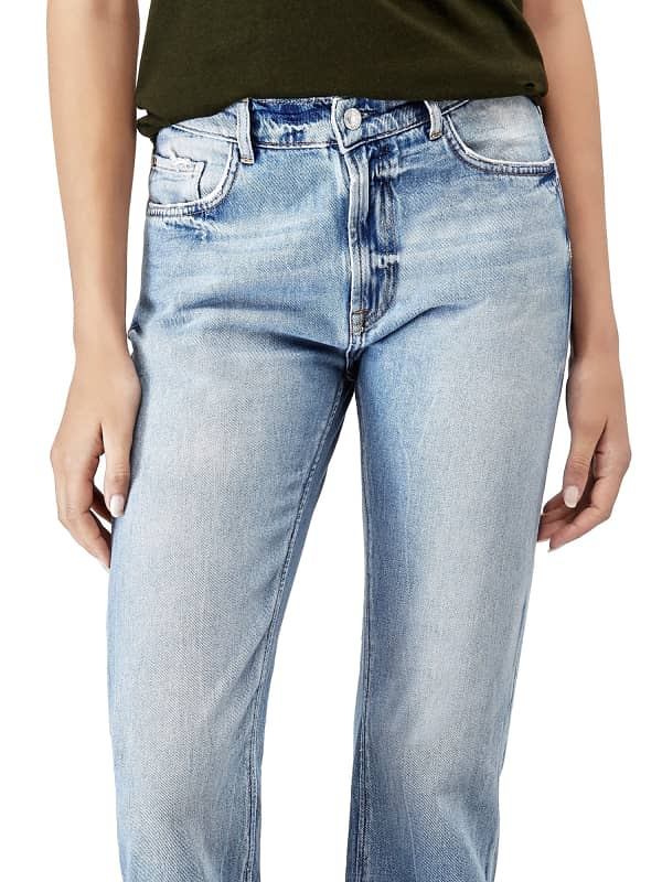 GUESS Jeans Regular Kontrastsaum