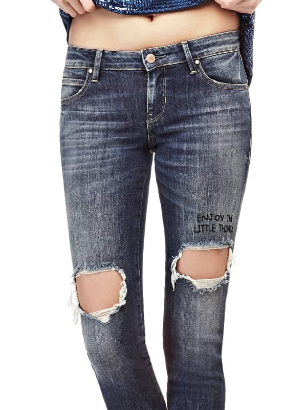GUESS Jeans Skinny Mit Rissen