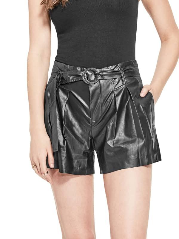 GUESS Shorts Beschichtete Optik | GUESS SALE