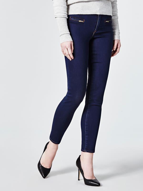 5-Pocket-Jeans Slim | Bekleidung > Jeans > 5-Pocket-Jeans | Dunkelblau | Denim - Baumwolle - Polyester | Guess