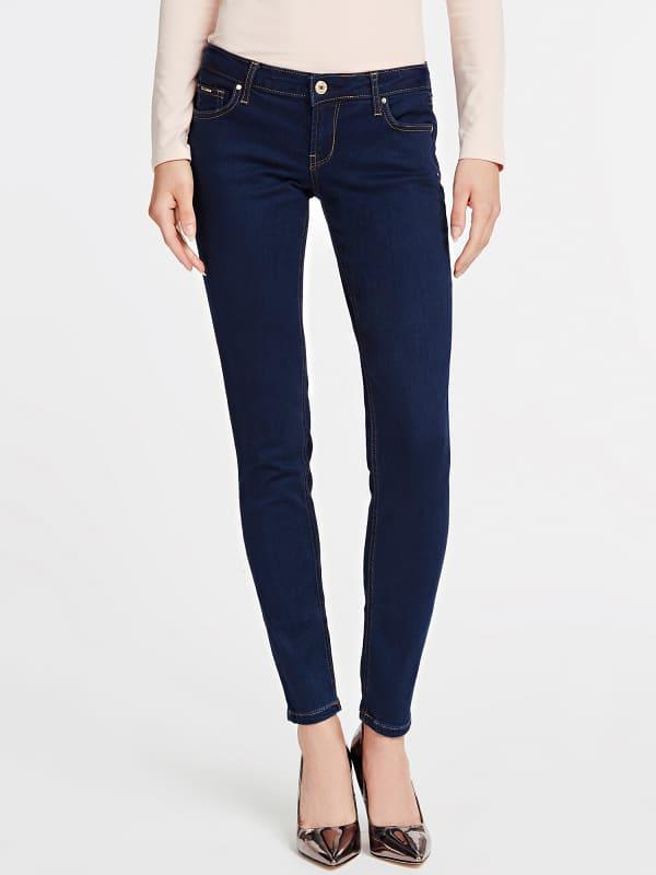 5-Pocket-Jeans Denim | Bekleidung > Jeans > 5-Pocket-Jeans | Blau | Baumwolle - Polyester - Modal | Guess